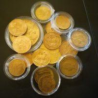 Collection de pièces en or et argent - Numismate